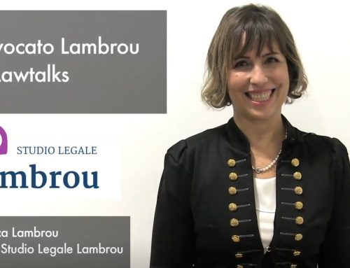 INTERVISTA ALL'AVV. MONICA LAMBROU: L'AVV. LAMBROU PER LAWTALKS