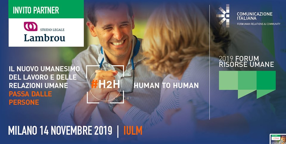 Forum delle risorse umane – HR FORUM 14 Novembre IULM